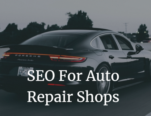 The Benefits of SEO for Auto Repair Shops